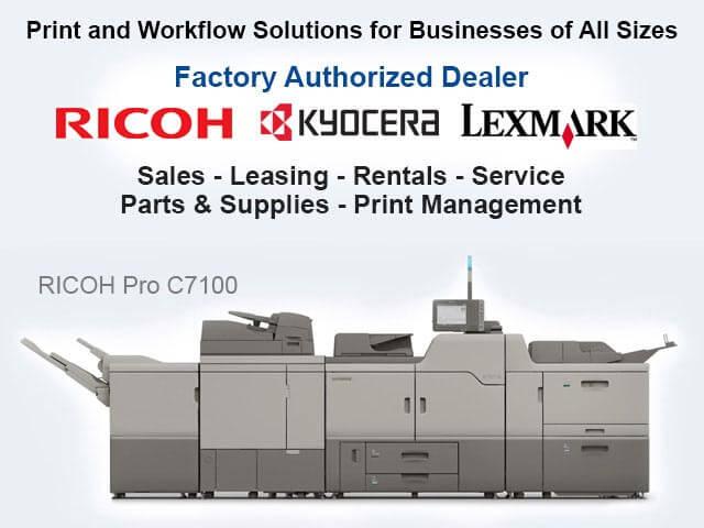 Ricoh & Lexmark Copiers/Printers Redlands | Leasing, Sales