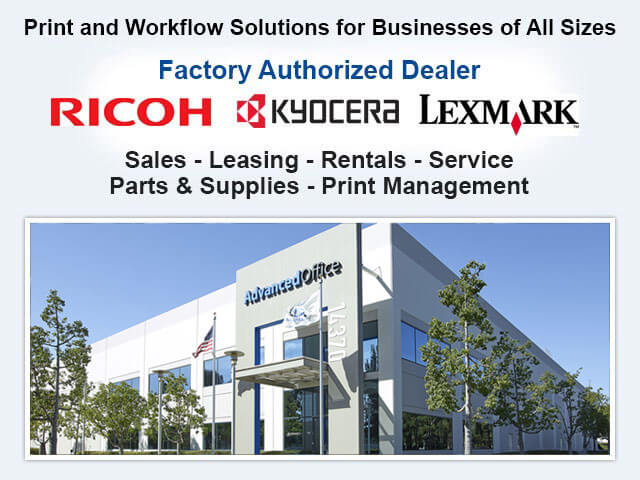 Los Angeles Kyocera Parts & Supplies